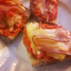 Bruschetta wanna be